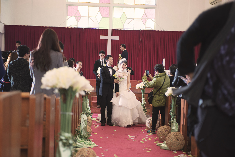 Carol & Ricky - Wedding day