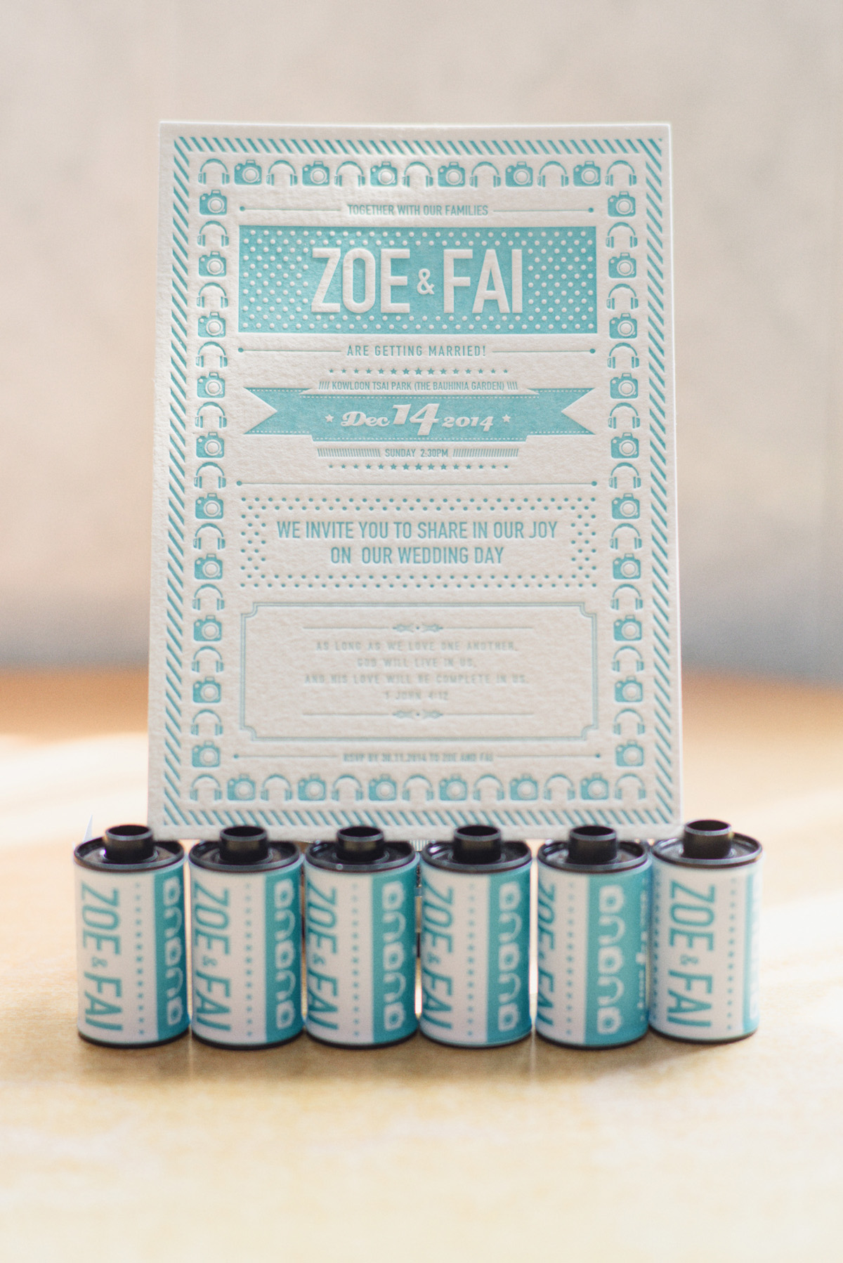 Zoe & Fai - Wedding Invitation Design idea